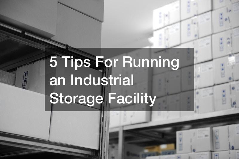Boring industrial storage